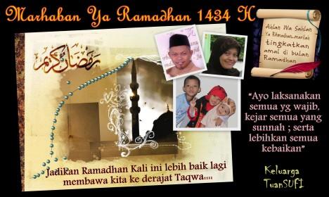Flyer TuanSUFI  Ramadhan 1434H