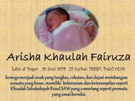 Arisha Khaulah Fairuza
